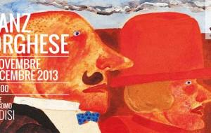 Inaugurata la mostra antologica di Franz Borghese