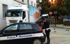 Polizia Municipale: controlli e multe per auto e autocarri