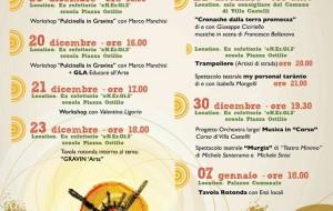 Gravinarts: programma di eventi per la valorizzazione dei siti carsici di Villa Castelli