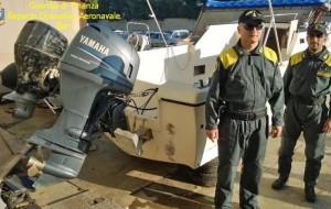 Sventato sbarco di marijuana: sequestrato natante di 7 metri