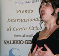 """Roberta Mantegna si aggiudica il premio """"Valerio Gentile"""""""
