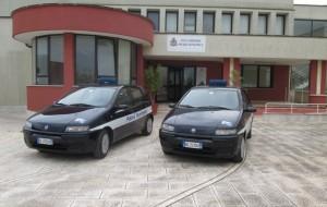Riconsegnate due autovetture di servizio alla Polizia Municipale