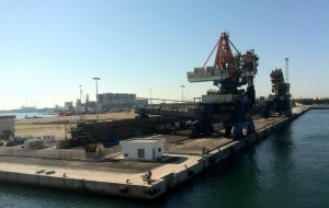 Stato di agitazione degli addetti al servizio di sbarco carbone del porto di Brindisi