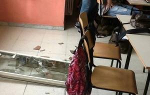 Crolla finestra al Majorana: le precisazioni degli organi di rappresentanza