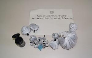 San Pancrazio Salentino: casalinga sorpresa con la droga nella borsa