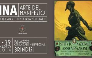 """Inaugurata la mostra """"INA – Arte del manifesto"""""""