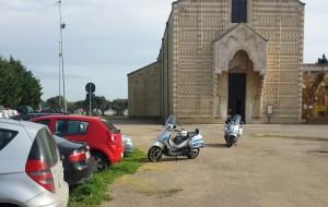Parcheggi a Santa Maria del Casale: multe e rimozioni
