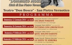 """Al via il X concorso teatro amatoriale """"D. Modugno – Città di San Pietro Vernotico"""""""