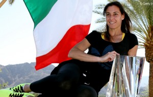 Photogallery: Flavia Pennetta ad Indian Wells