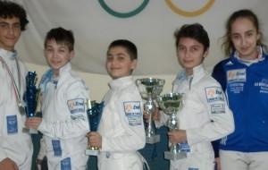 Le Lame Azzurre Brindisi si laureano campioni regionali 2014