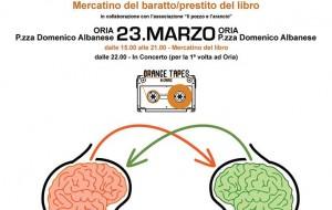 """Domani ad Oria """"Lab_aratto"""", il primo mercatino di prestito e baratto del libro"""