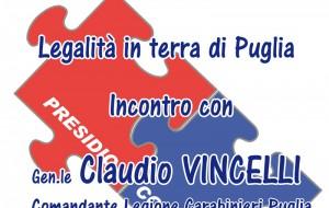 Tasselli della legalità: il Generale Vincelli all'ITT Giorgi