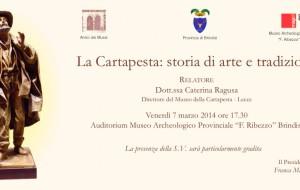 Venerdì incontro su storia e tradizione della Cartapesta