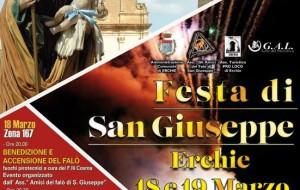 Erchie: tutto pronto per la Festa di San Giuseppe