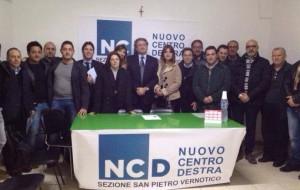 Ferrarese e De Michele inaugurano circolo NCD di San Pietro Vernotico