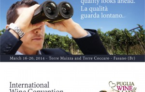 Puglia Wine and Land: dal 16 al 20 marzo a Savelletri di Fasano