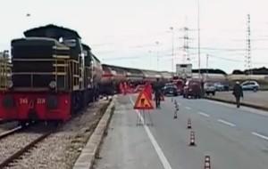 Treno con propilene deraglia alla zona industriale: nessun pericolo