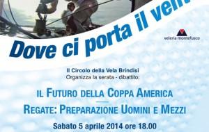 Dove ci porta il vento: sabato a Palazzo Nervegna dibattio com tre velisti di fama