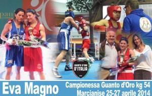 Boxe: Eva Magno vince il Guanto d'Oro d'Italia