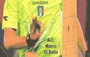 L'arbitro brindisino Di Bello riceve il premio come miglior debuttante in Serie A