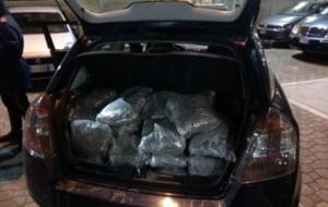 Sequestrati 120 Kg di marijuana nel centro di Brindisi