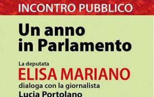 Un anno in Parlamento: Elisa Mariano incontra S. Pietro V.co