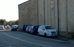 Chiesa di Santa Maria del Casale: oltre 60 multe per parcheggio irregolare