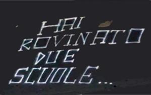 Scritta offensive contro la preside del Fermi-Monticelli