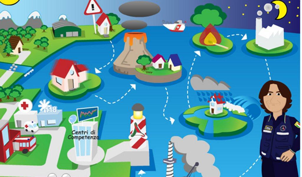 Progetto scuola multimediale di protezione civile in due for Protezione stufa per bambini