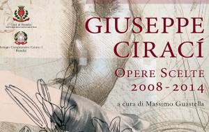 Sabato 17 inaugura la mostra antologica di Giuseppe Ciracì
