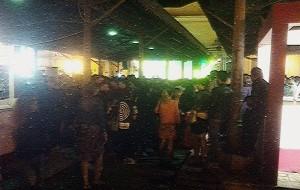 L'impegno della Polizia Municipale nella prima serata del Negroamaro Wine Festival