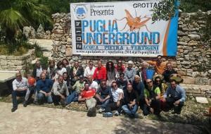 """Conclusa l'avventura di """"Puglia Underground 2014 – acqua, pietre e vertigini"""""""