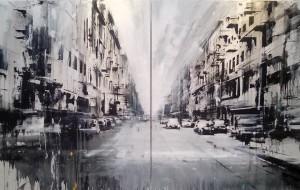 Cityscape di Daniele Cestari in mostra alla Galleria Orizzonti di Ostuni