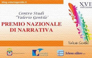 """XXII edizione del Premio Nazionale Di Narrativa Inedita """"Valerio Gentile"""": il regolamento"""