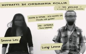 Ritratti di ordinaria follia – in posa: Serena Leo e Luigi Lerna espongono nella Cattedrale di Oria