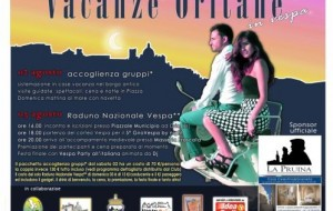 Vacanze oritane con il raduno nazionale Vespa