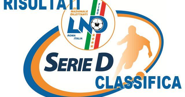 Serie D Girone H: 13^ giornata, risultati e classifica