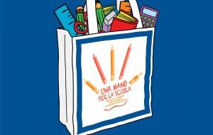 Una mano per la scuola: torna la raccolta di materiale scolastico per le famiglie in difficoltà