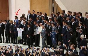 Ex calciatore del Brindisi da Papa Francesco assieme a Maradona, Baggio, Buffon e Del Piero