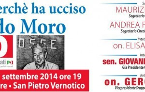 """Domenica a San Pietro incontro su """"Chi e perché ha ucciso Aldo Moro"""""""