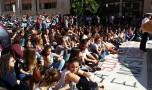 10Ottobre, Tutti in scena… Buona la prima. Dialogo disincantato sulla manifestazione studentesca. Di A.Serni