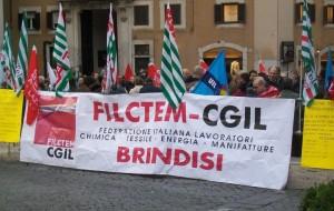 """Tavolo tecnico Chimica, Filctem Cgil: """"Un tavolo politico per il rilancio delle attività industriali a Brindisi"""""""