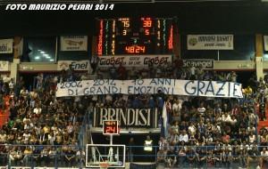 New Basket Brindisi-Pesaro=92-56 Photogallery di Maurizio Pesari