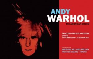 """Alle 19.00 si inaugura """"The American Dream"""", la mostra di Andy Warhol"""