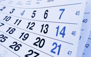 Tempo di calendari. Di Guido Giampietro