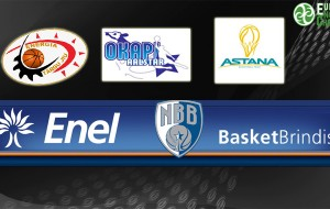 Eurochallenge: Martedì 13 Brindisi-Astana apre la seconda fase