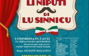 "A Carovigno torna il teatro dialettale con ""Li niputi di lu sinnicu"""