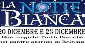 Sabato 20 e Martedì 23: a Brindisi due notti bianche per lo shopping natalizio