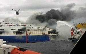 Naufragio Norman Atlantic: l'AdSP MAM ammessa come parte civile, riconoscendo il grave danno, economico e di immagine, subito dal porto di Brindisi