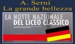 Notte del Liceo Classico: perché non c'era un tedesco? Di A.Serni